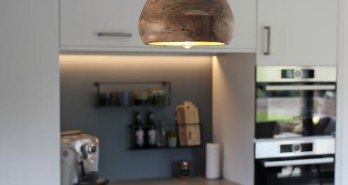 hanglamp in keuken
