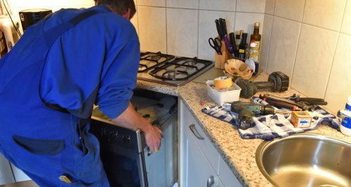 Monteur keukenrenovatie