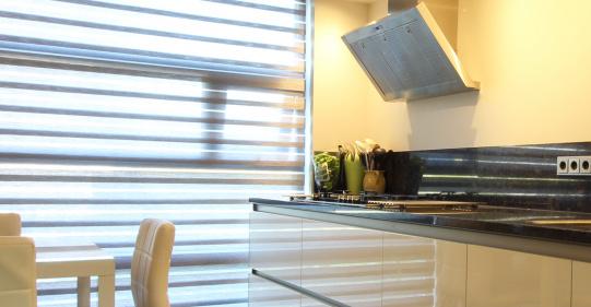 wit hoogglans keuken